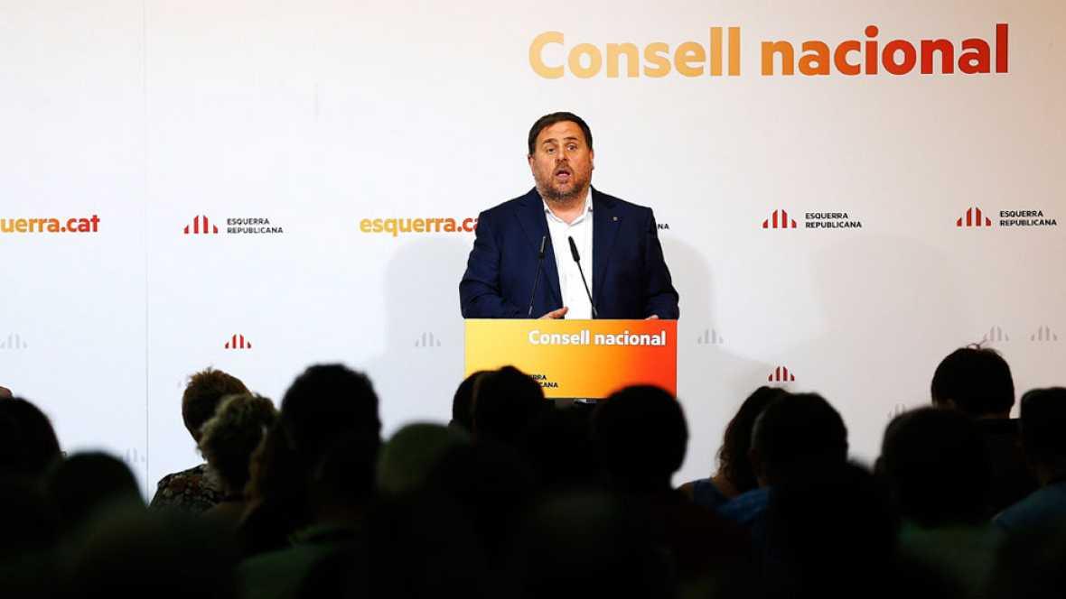 Junqueras afirma que el referéndum tendrá las mismas garantías que cualquier cita electoral