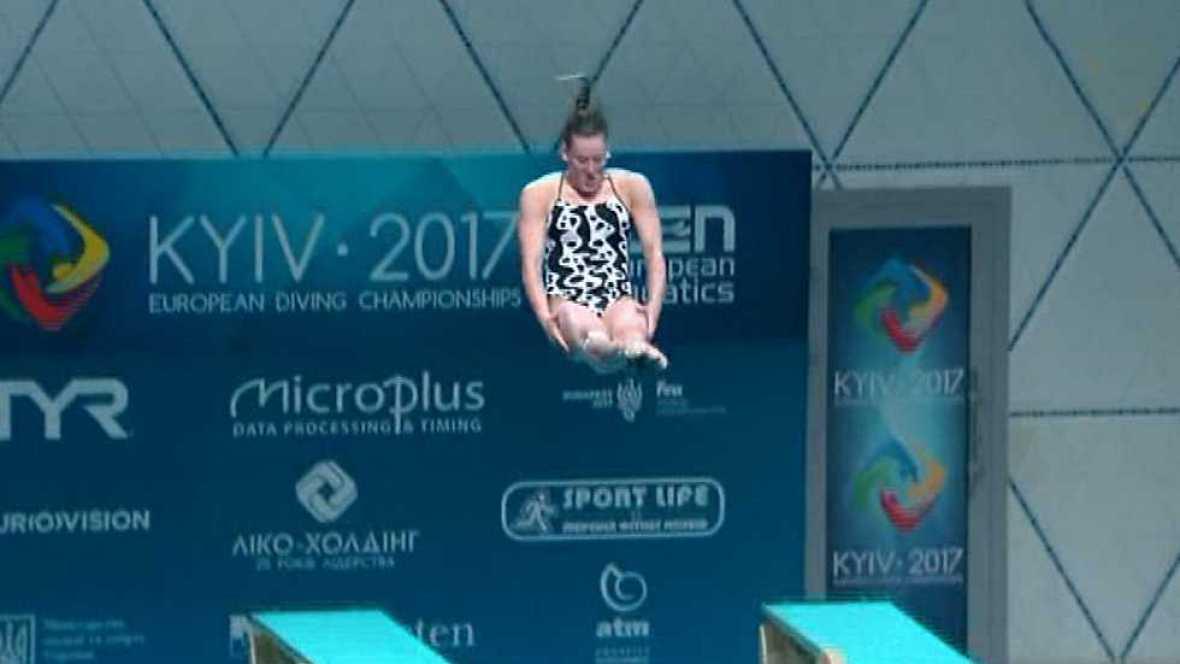 Natación - Saltos 'Campeonato de Europa'. Final 1MT Femenino desde Kiev (Ucrania) - ver ahora