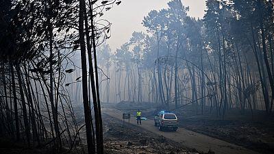 Al menos 43 muertos en in incendio en Portugal
