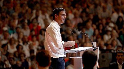 Discurso de Pedro Sánchez como nuevo secretario general del PSOE