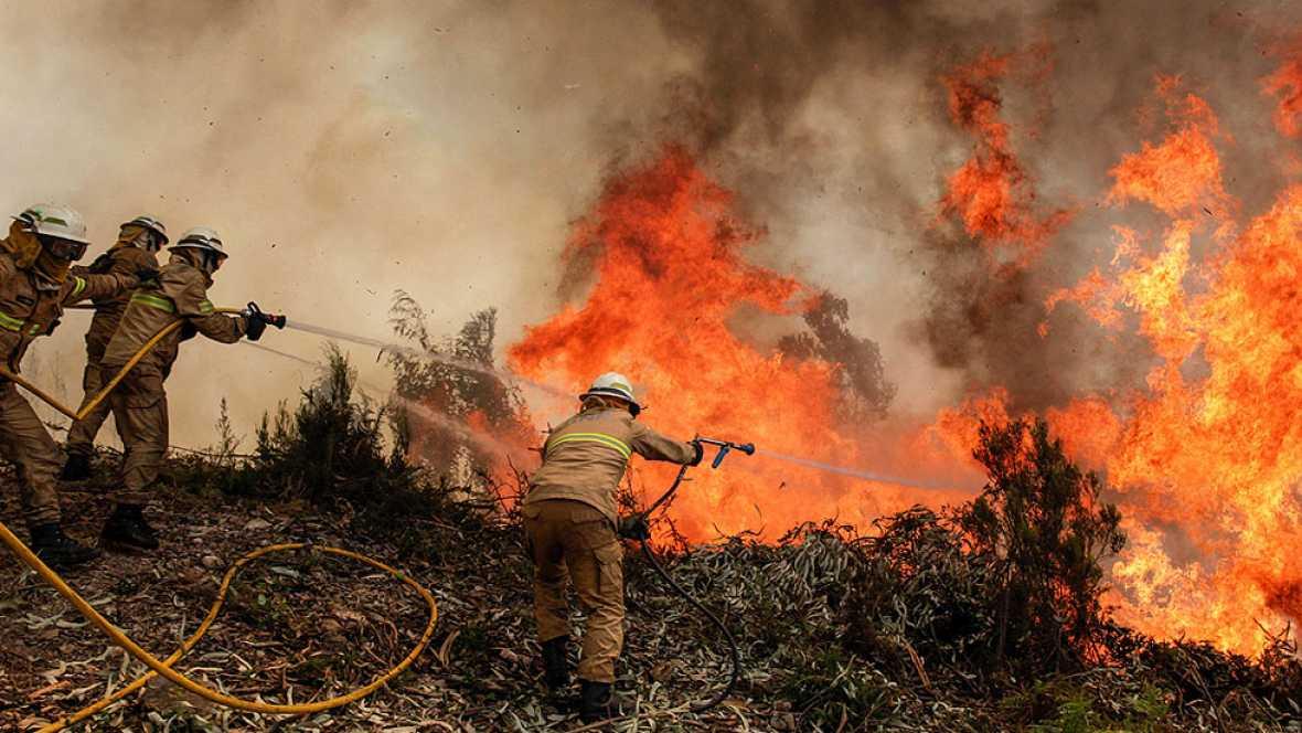 Incendio en Portugal: Más de veinte municipios afectados