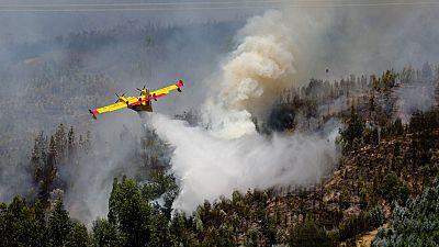 Incendios forestales, un grave problema en Portugal