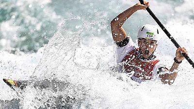 La piraguista española Maialen Chourraut ha conseguido la medalla de oro en la Copa del Mundo de Praga.