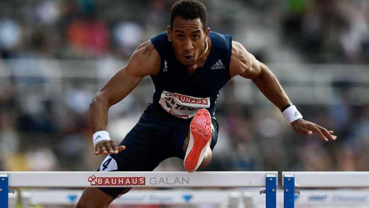 El atleta español se impuso en los 110 metros vallas se la sexta cita de la Diamond League, celebrada en el Estadio Olímpico de Estocolmo, con un tiempo de 13.09.