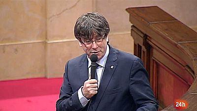 Parlamento - Otros parlamentos - Puigdemont y los funcionarios - 17/06/2017
