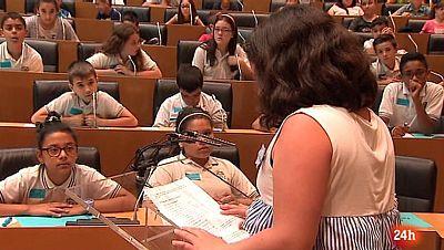Parlamento -El reportaje - Pleno infantil contra el acoso - 17/06/2017