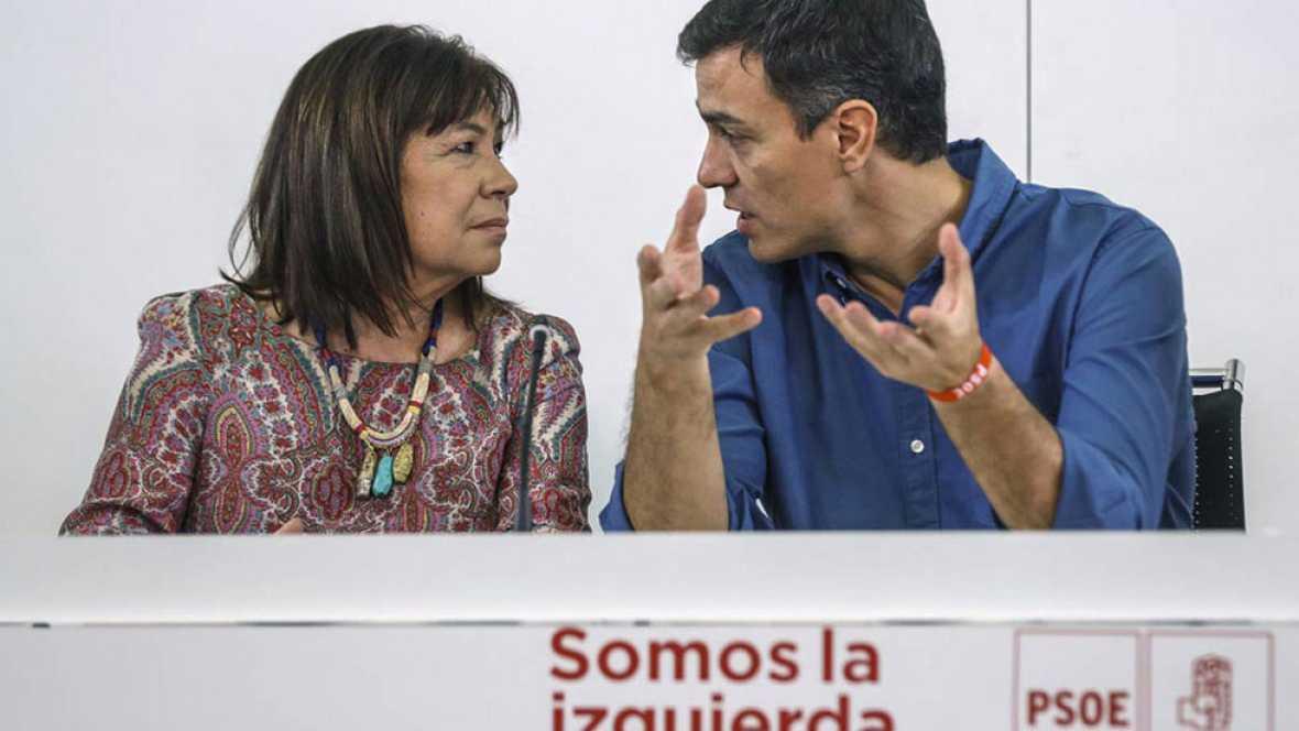 La nueva Ejecutiva del PSOE asegura que trabajara por el entendimiento con C's y Podemos