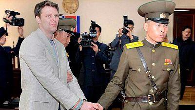 Muere el estudiante estadounidense que cayó en coma preso en Corea del Norte