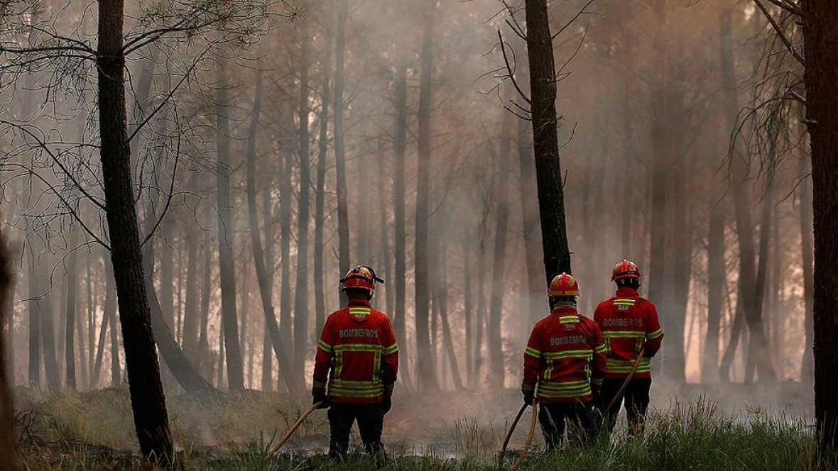 Controlado el 70 por ciento del incendio en Portugal