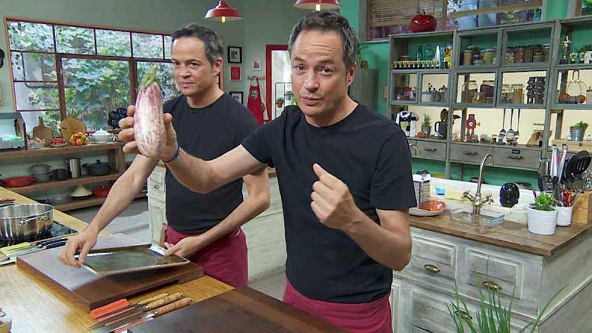 Torres en la cocina - Lasaña de berenjena y Fish and Chips - ver ahora