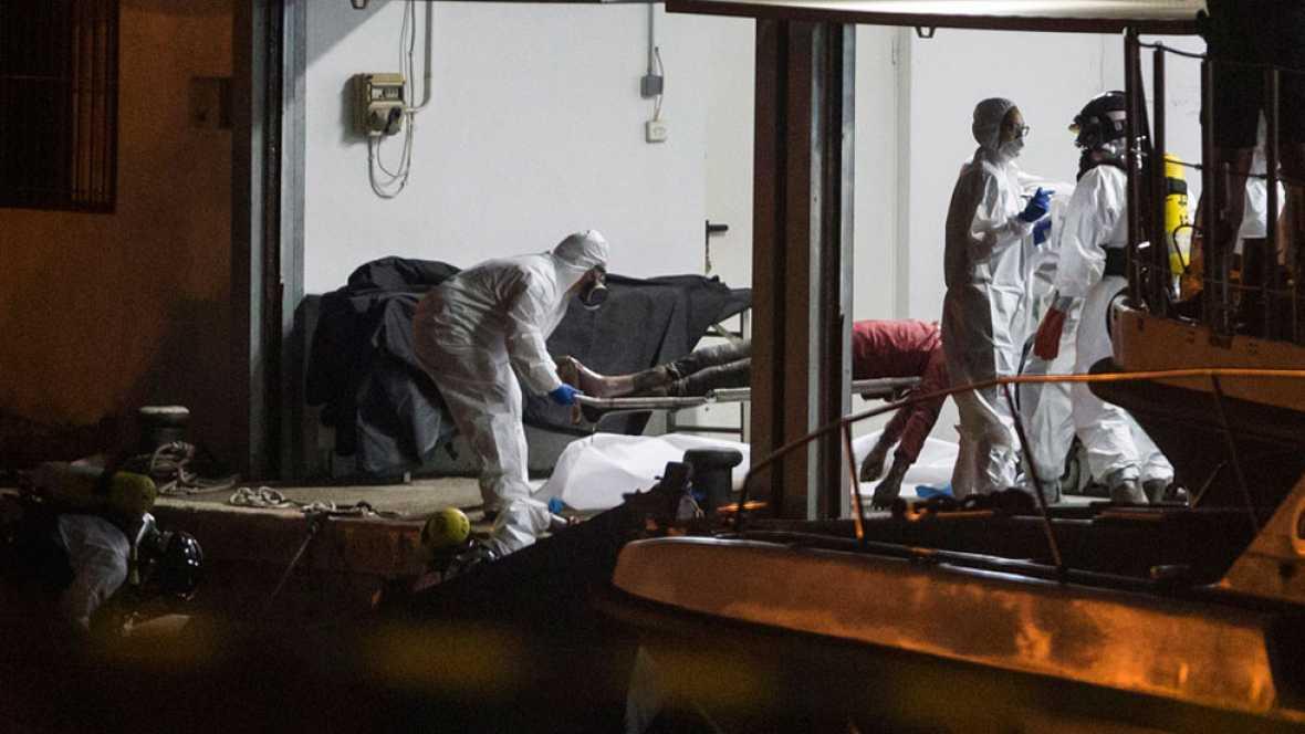 Al menos 126 inmigrantes han muerto, víctimas de un naufragio en el Mediterráneo