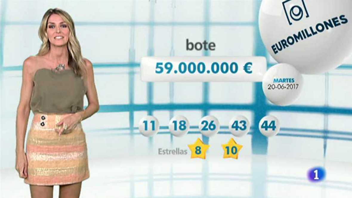 Bonoloto + EuroMillones - 20/06/17 - ver ahora