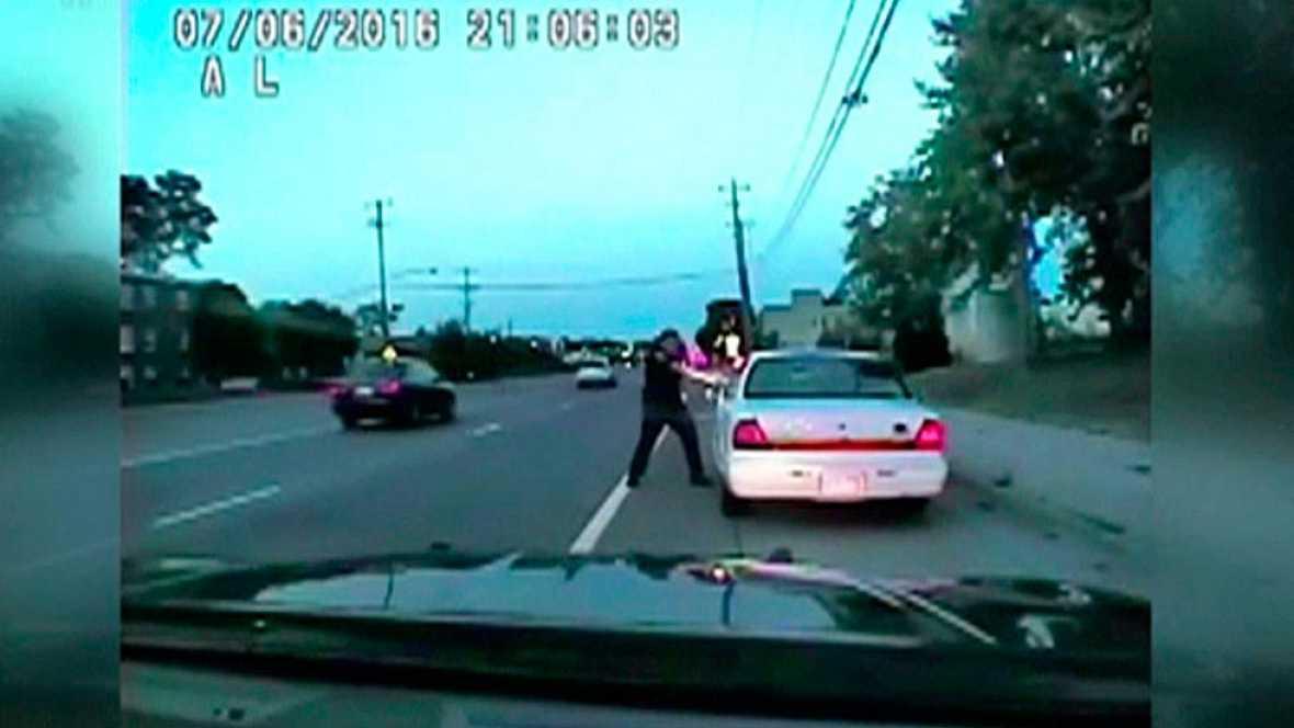 Salen a la luz las imágenes del tiroteo de un hombre negro en su coche en Minnesota