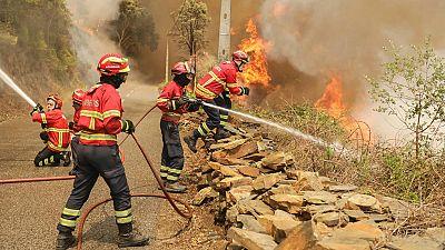 Pedrógao Grande, una localidad golpeada por el fuego