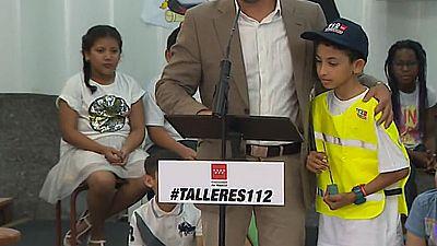 Youssef, un niño de 8 años, el ejemplo de cómo llamar al 112 salva vidas