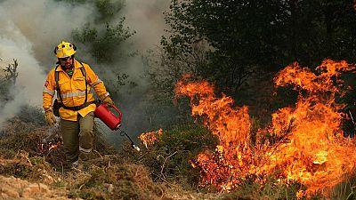 Incendio en Portugal - El jefe de los bomberos portugueses cree que el incendio fue provocado