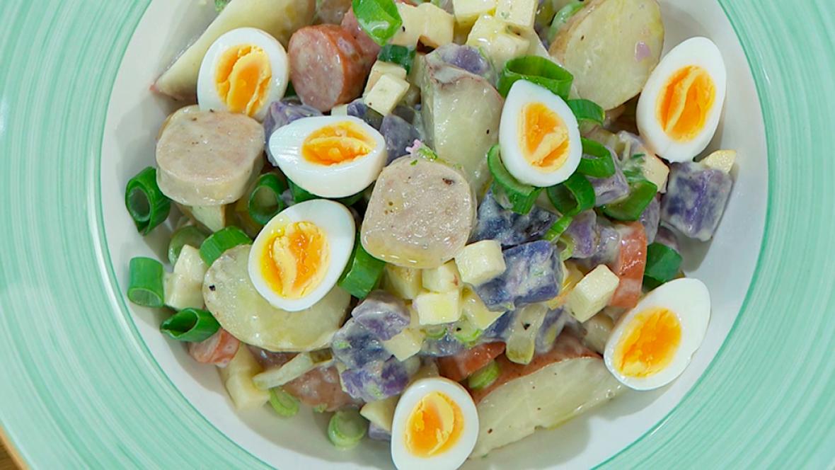Receta de ensalada alemana for Cocina hermanos torres