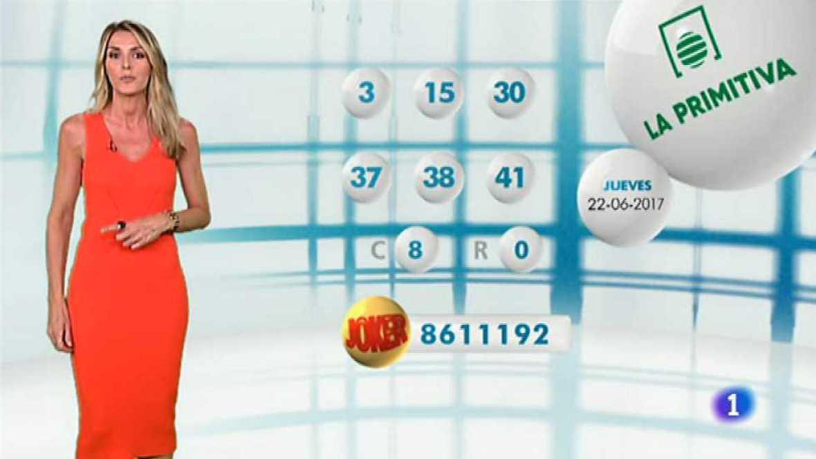 Lotería Nacional + La Primitiva + Bonoloto - 22/06/17 - ver ahora