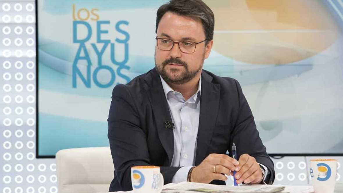 Los desayunos de TVE - Asier Antona, presidente del Partido Popular de Canarias - ver ahora