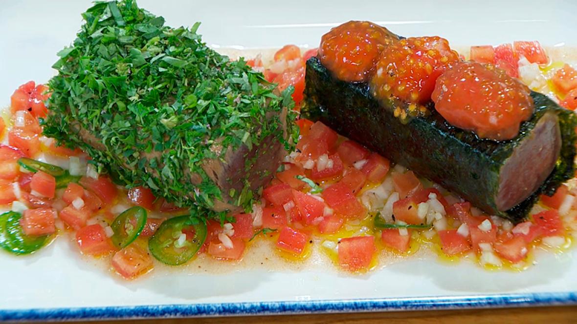 Torres en la cocina - Tataki de atún