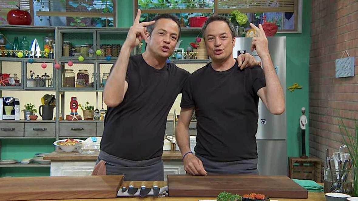 Torres en la cocina - Tataki de atún y cocas dulces - ver ahora