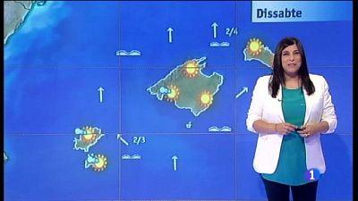 El temps a les Illes Balears - 23/06/17