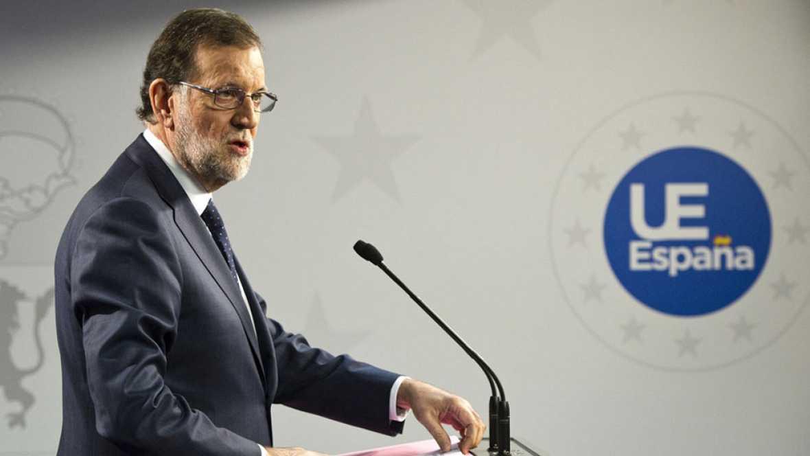 Rajoy se muestra dispuesto a reunirse con Sánchez para abordar asuntos de Estado