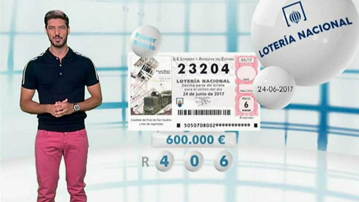 Lotería Nacional - 24/06/17 - ver ahora
