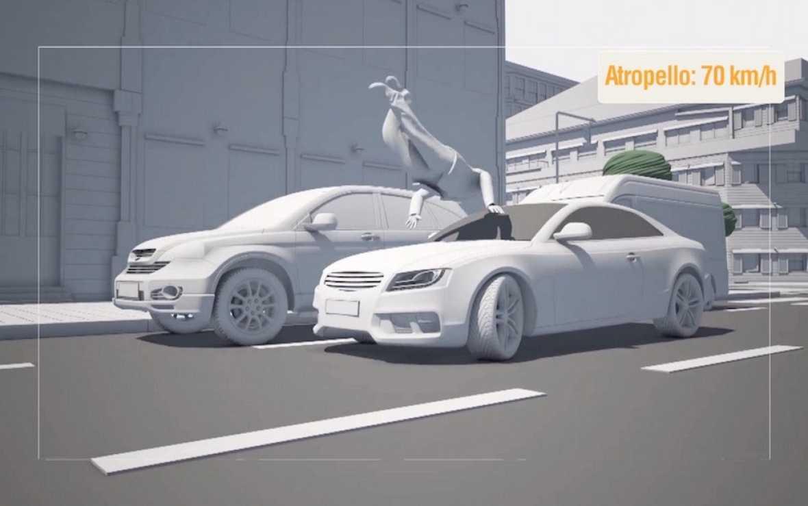 Restricciones de velocidad en zonas con riesgo de atropello