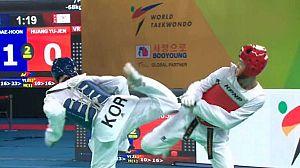 Taekwondo - Cto. del Mundo. -67kgs. F y -68kgs. M