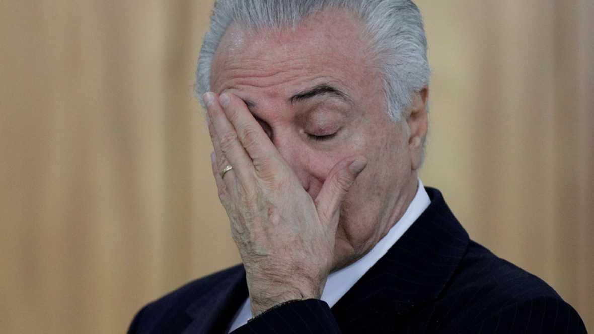 La Fiscalía de Brasil denuncia al presidente Michel Temer por presunta corrupción pasiva