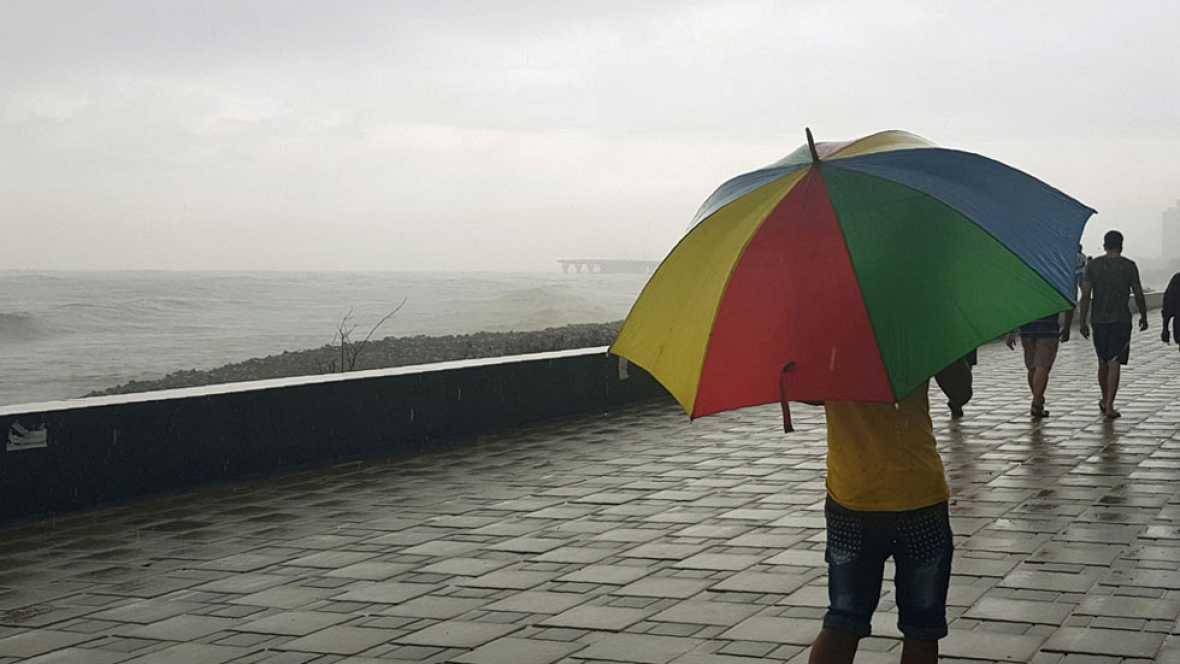 28 provincias están en riesgo por viento,  lluvias, tormentas y olas, que serán fuertes en el norte