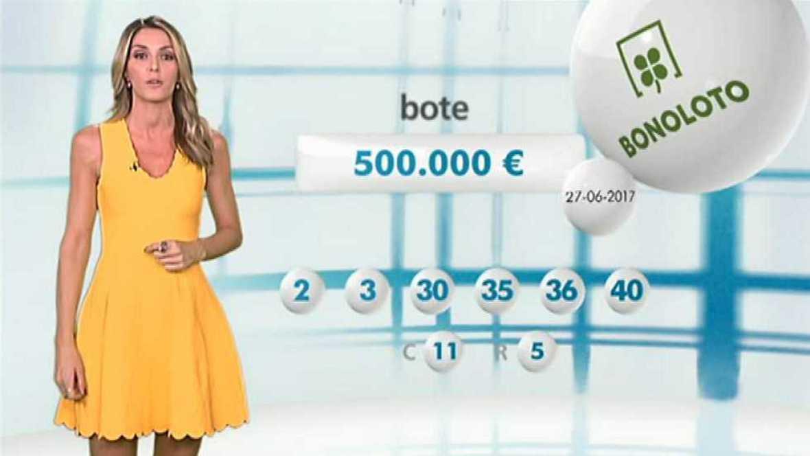 Bonoloto + EuroMillones - 27/06/17 - ver ahora