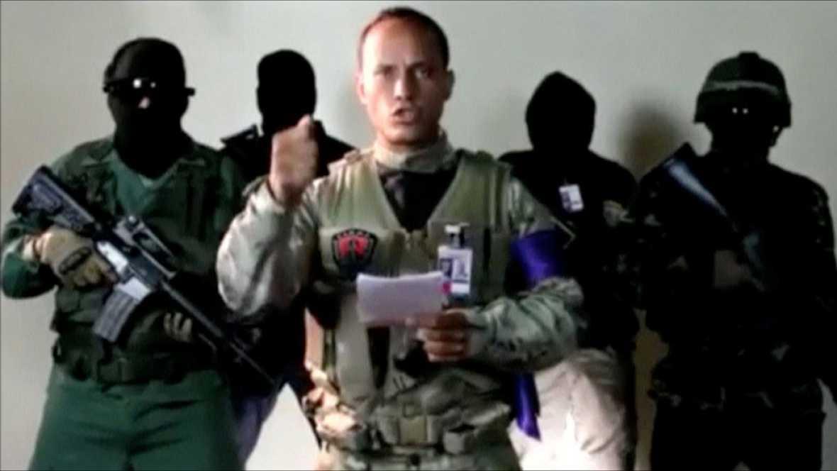 """El inspector Óscar Pérez llama la sublevación contra Maduro: """"Salgamos a la calle y a cada base militar"""""""