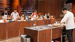 MasterChef 5 - Miri roba ingredientes durante el cocinado