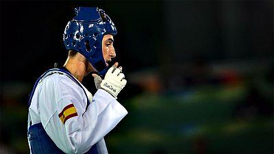 El taekwondista español se queda a las puertas de pelear por la medalla de oro.