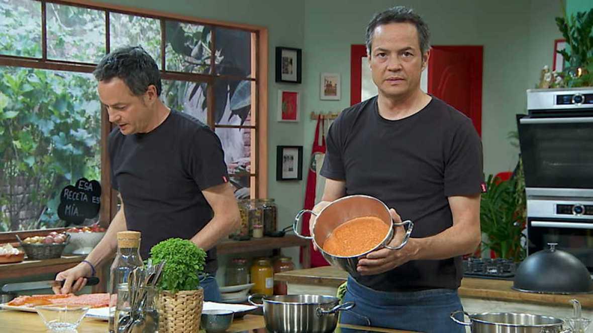 Torres en la cocina - Gambas en gabardina y picantón relleno - ver ahora