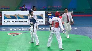 Taekwondo - Cto. del Mundo. -53kgs. y +73kgs. F y -58kgs M