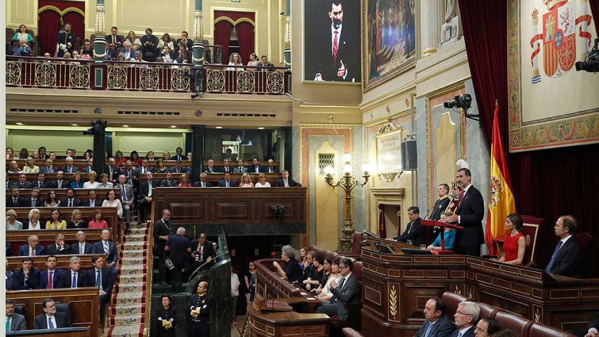 Polémica por la ausencia del rey Juan Carlos en la conmemoración de las elecciones de 1977