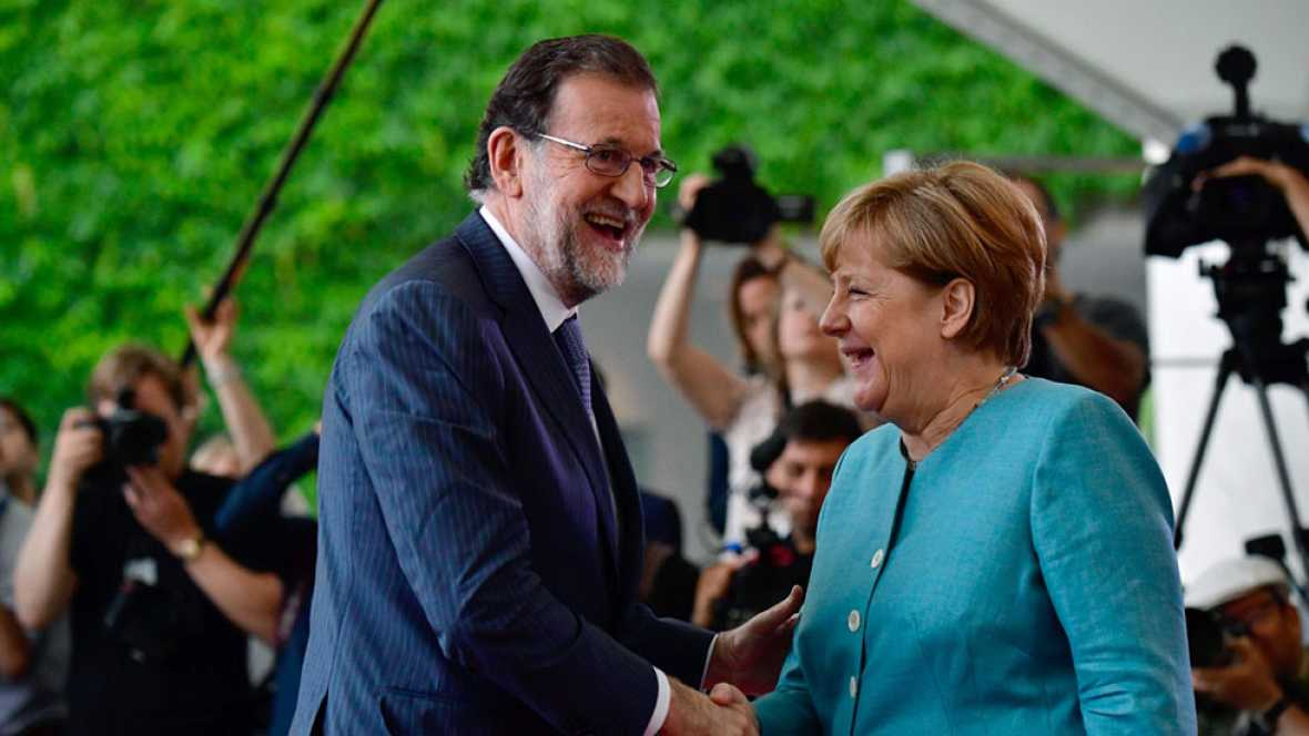 Angela Merkel consensúa una postura europea ante el G-20