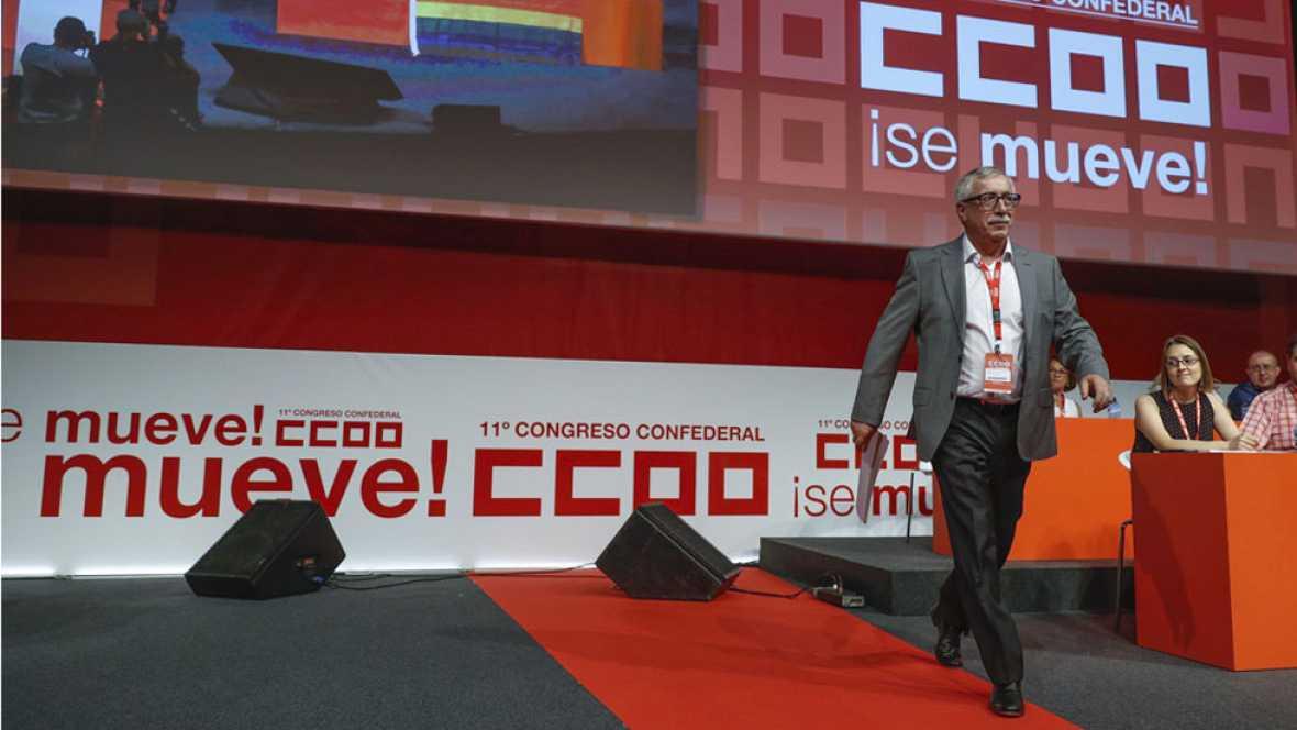 Toxo deja la secretaría general de CCOO y apuesta por un sindicato más unido y renovado