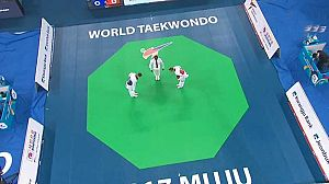 Taekwondo - Cto. del Mundo. -73kgs. F y -87kgs. y +87kgs. M