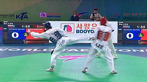 Taekwondo - Campeonato del Mundo. Finales -57kgs. y -62kgs. Femeninos y -63kgs. y -80kgs. Masculinos
