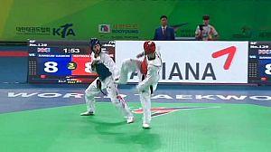 Taekwondo - Campeonato del Mundo. Semifinales -57kgs. y -62kgs. Femeninos y -63kgs. y -80kgs. Masculinos