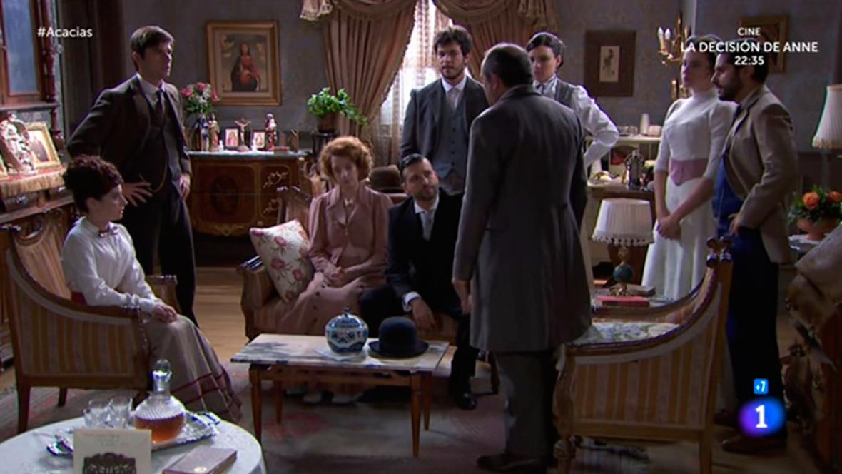 Acacias 38 - Los vecinos no creen lo que Simón cuenta del Coronel