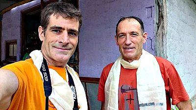 El helicóptero de rescate ha confirmado la desaparición de Alberto Zerain y Mariano Galván en el Nanga Parbat (8.125 metros) tras detectar una avalancha sin supervivientes en la zona.