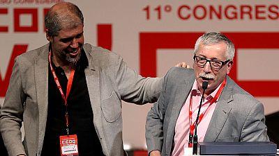 El Congreso de Comisiones Obreras en Madrid finaliza aupando a Unai Sordo al frente del sindicato, tras la marcha de Fernández-Toxo