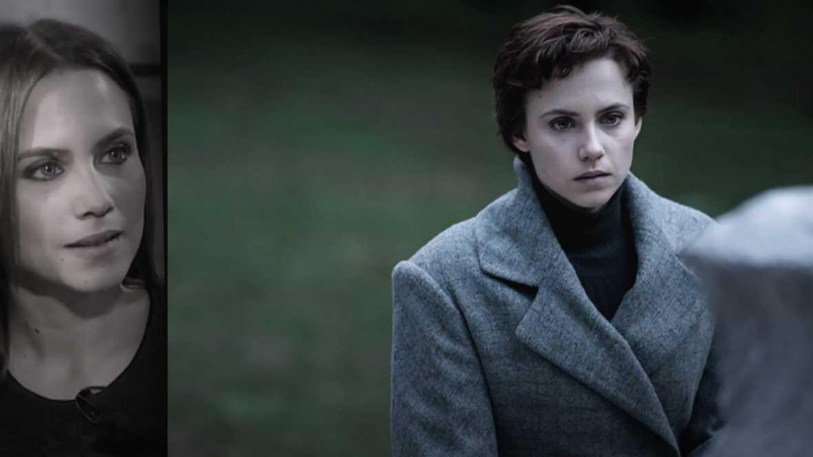 El Ministerio del Tiempo - Amelia se encuentra cara a cara con su propia tumba