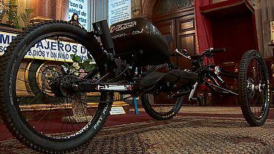 Ha aparecido la bicicleta la atleta paralímpica Gemma Hassen-Bey que le habían robado el sábado en Madrid
