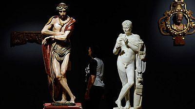 El Museo Nacional de Escultura, acoge el Palacio de Villena, en Valladolid